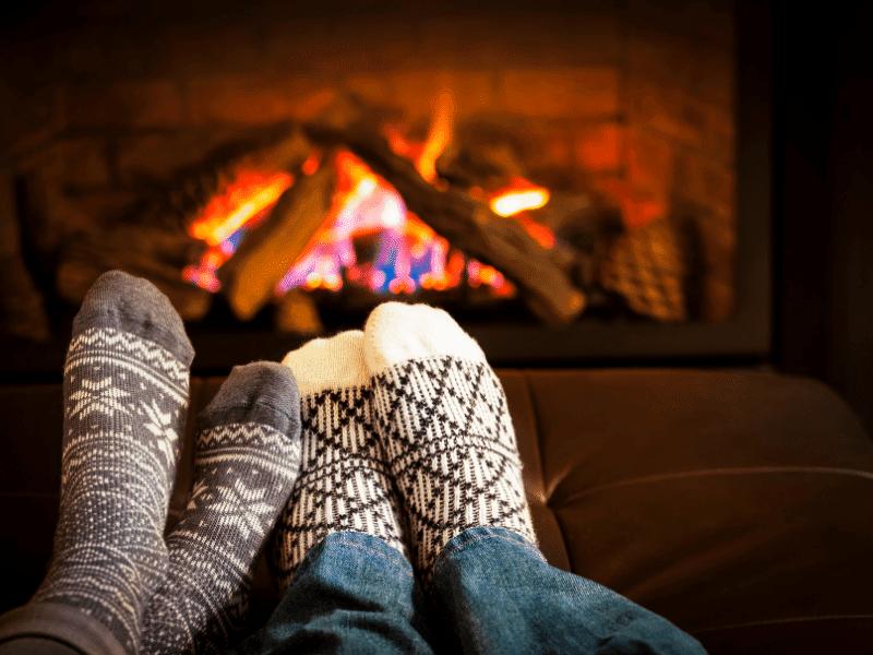 Kalte Füße mit warmen Socken